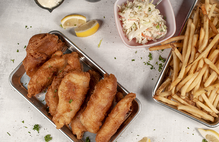 picture of fish and chips family pack