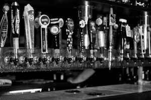 moot house beer taps with local fort collins beers